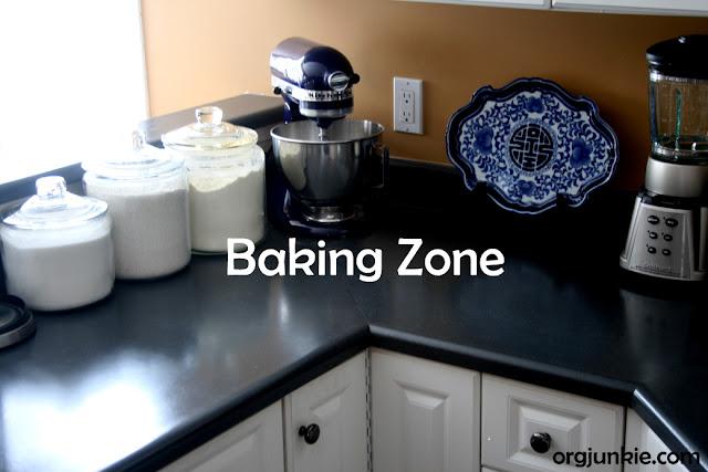 Organizing Baking Supplies In The Kitchen