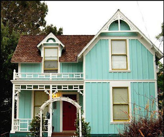 14 Pilihan Warna Cat  Rumah  Minimalis Biru  yang Bagus