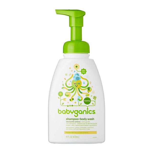 Babyganics Gentle Shampoo & Body Wash