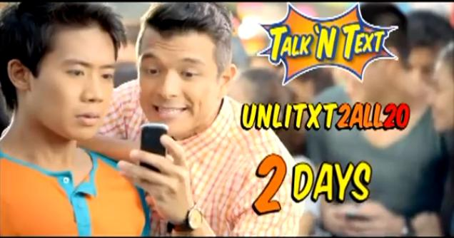 Talk N Text (TNT) UNLITXT2ALL20 Promo - Unli Text to All Networks Extends its Validity to 2 days