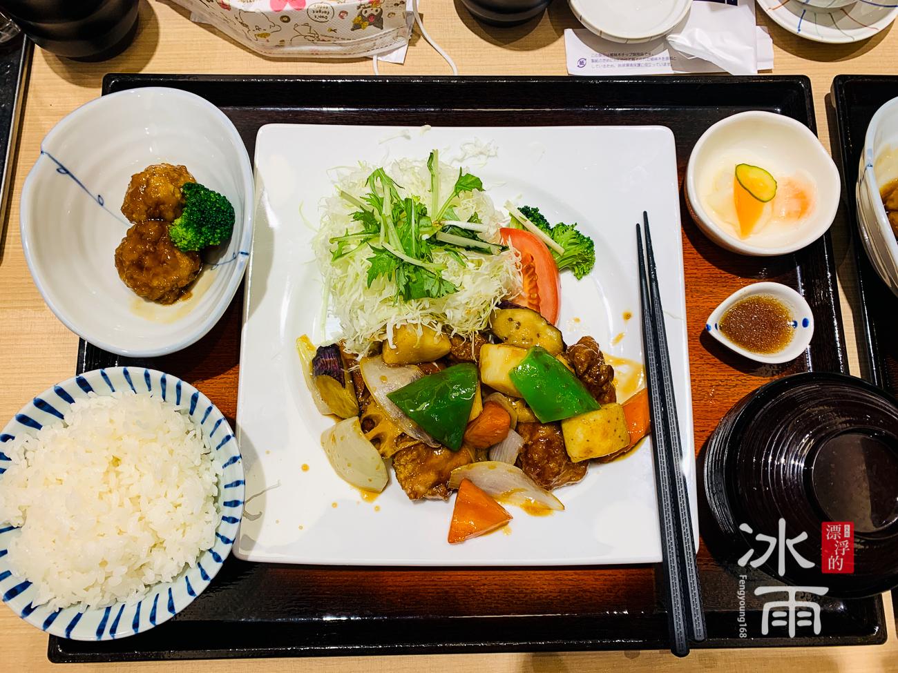 蘆洲家樂福大戶屋|炭烤雞肉香桔醋定食