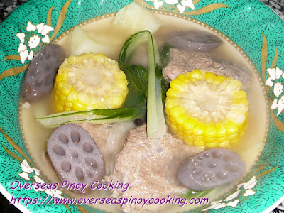 Nilagang Baka with Lotus Root Recipe