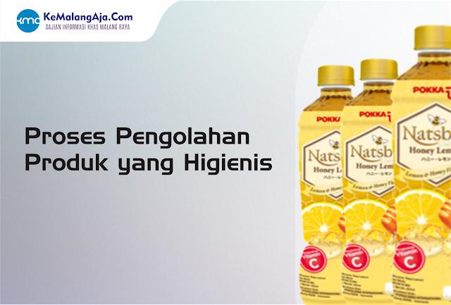 Proses pengolahan produk yang higienis