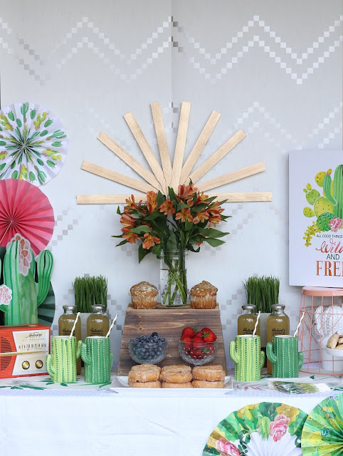 Mid Century Palm Springs Cactus Party - AK Party Studio