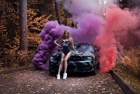 Hình Nền Siêu Xe Và Hot Girl