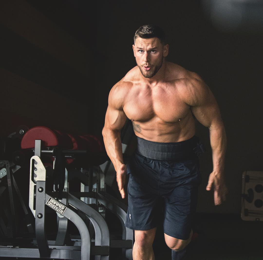 masculine-strong-shirtless-gym-hunk-muscular-body-working-out