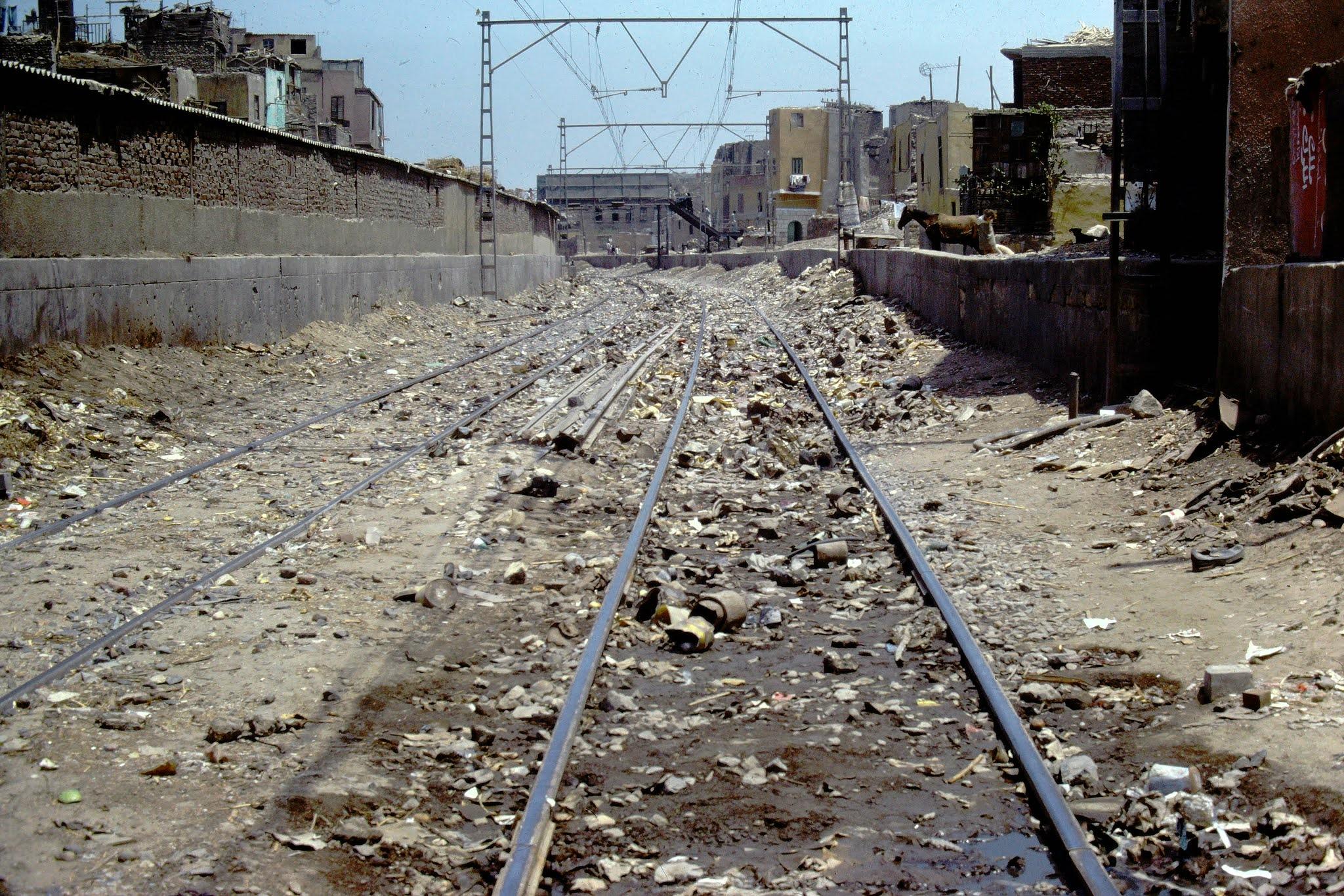 Cairo Train Tracks - June 1982