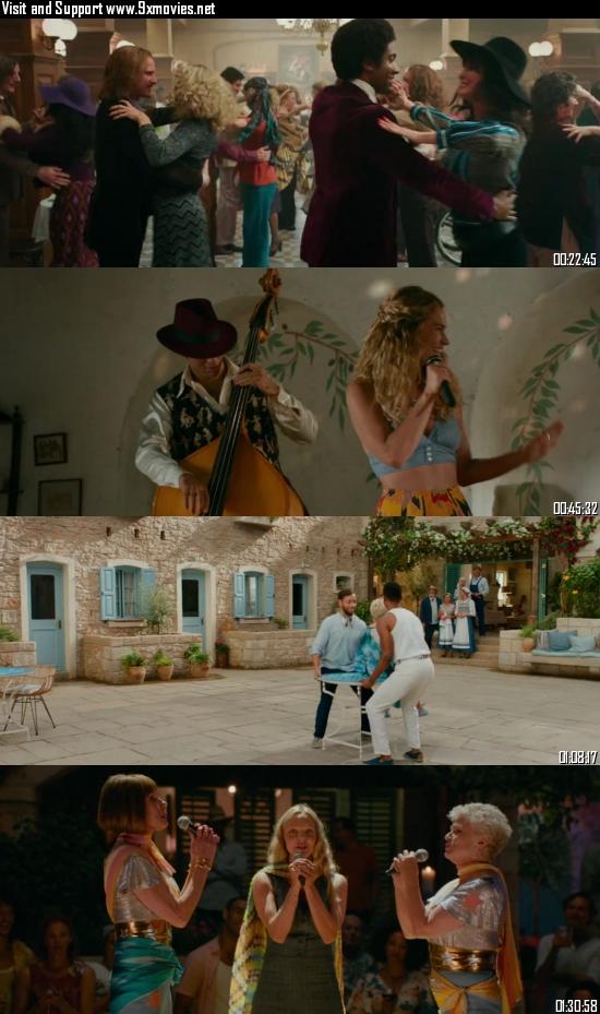 Mamma Mia Here We Go Again 2018 Dual Audio Hindi 720p BluRay 950mb