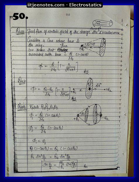 electrostatics iitjee question5