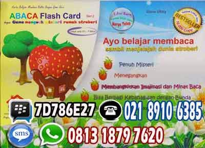 Kartu Abaca Flash Card
