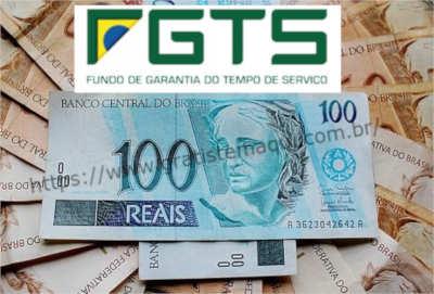fOTO de Dinheiro com o texto FGTS