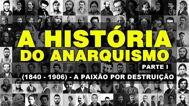 Capa de documentário da História do Anarquismo, Sem Deuses, Sem Mestres