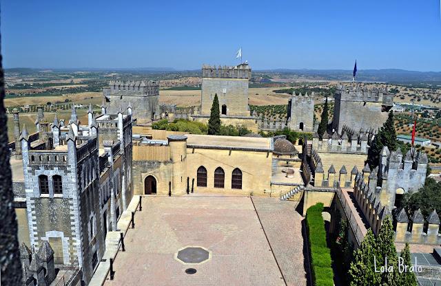 Plaza de armas Castillo de Almodovar