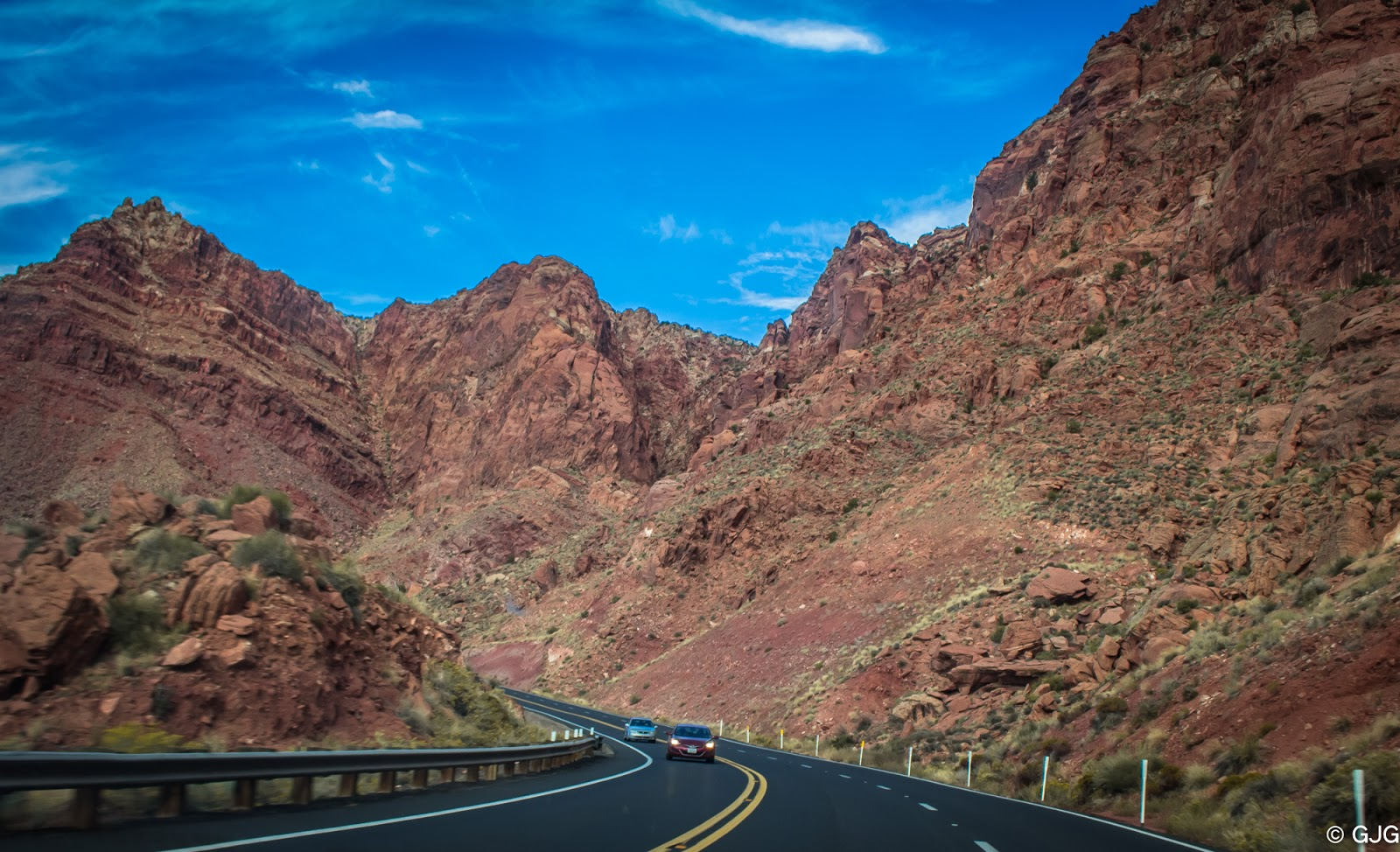 US Routes 64 and 89 Scenic Views in Arizona, USA