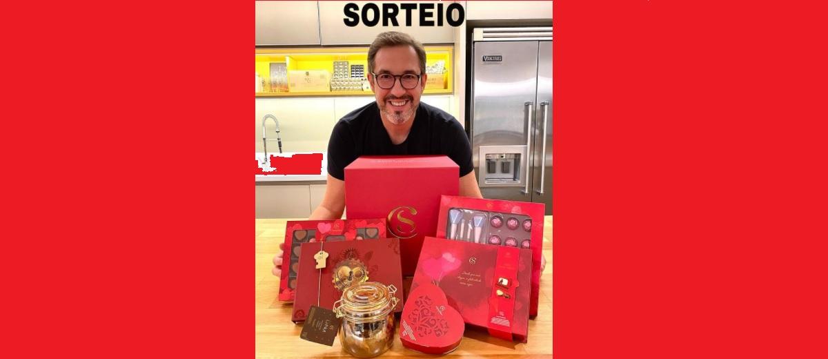 Sorteio Cacau Show Dia dos Namorados 2021 Alê - Kit Especial