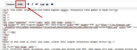 Mode html