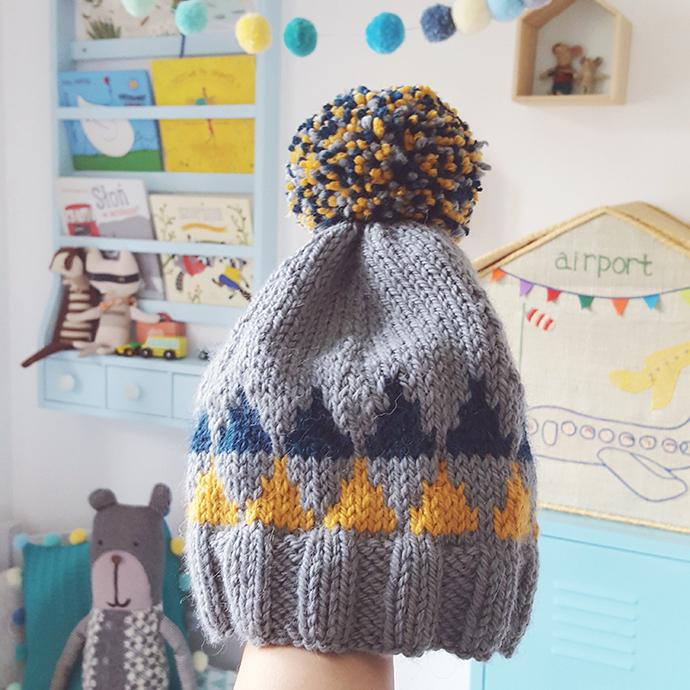 jak zrobić czapkę na drutach dla dziecka