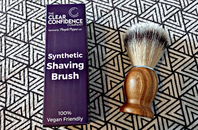 Vegan Shaving Brush from The Clear Confidence Company