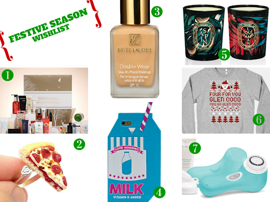 Festive Season Wishlist