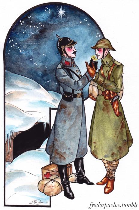 Contradicciones (Original): The Christmas Truce of 1914 (2013 version)