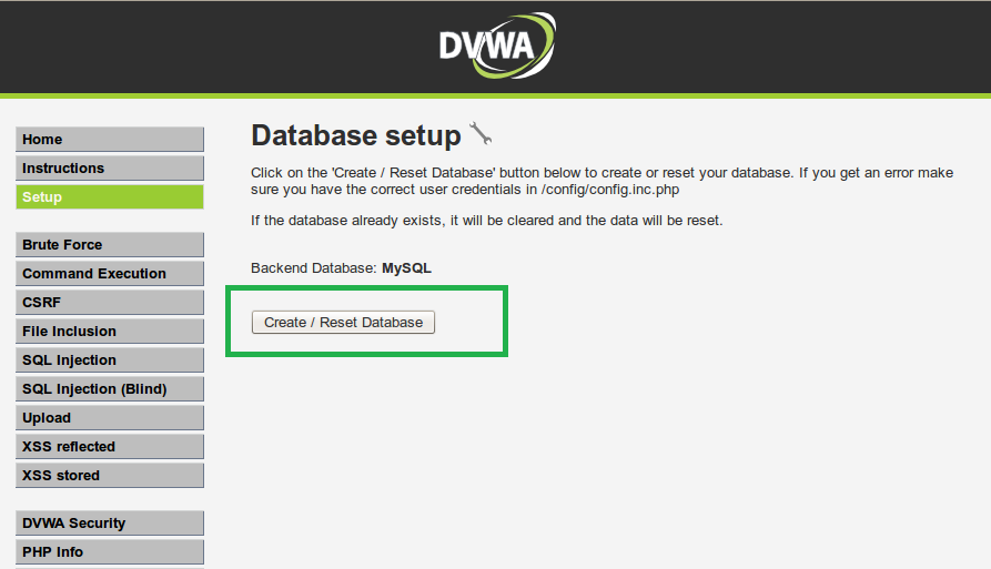 Installing DVWA on Backtrack - Hackatrick - Technology With