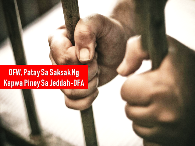 "As overseas Filipino workers (OFW) working in an unfamiliar territory, we feel comfortable whenever we see a compatriot or a fellow Filipino abroad. In some instances, very unfortunate things happen like getting into a trouble because of a fellow Filipino. The Department of Foreign Affairs (DFA) and the Consulate General in Saudi Arabia confirmed that an OFW was stabbed and killed by a fellow OFW in Jeddah, KSA.      Ads     Sponsored Links    A Filipino was stabbed and killed by a fellow Filipino in Jeddah, Saudi Arabia, according to the confirmation of the Department of Foreign Affairs (DFA).  The victim (name withheld) was a 29-year-old from Datu Odin Sinsuat, Maguindanao, who worked as a family driver in Jeddah.   The suspect (name withheld), a 34-year-old from Capiz, also a driver for the same family  The suspect remains under police custody after he was arrested immediately after the incident. The two ""allegedly engaged in a fistfight in front of the house of their employer that ended in the victim getting fatally stabbed by his fellow driver."" The motive of the stabbing is still unknown.  The Consulate General and the Philippine Overseas Labor Office in Jeddah will extend full assistance to both Filipinos as well as their families.    The victim is set for a vacation to the Philippines soon but the incident turned out to be unfortunate that he will come home inside a box.  Consul General Edgar Badajos said that the suspect is facing a death sentence as per Saudi Sharia law. However, since they are both Filipinos, it is possible that the victim's family could instead  He assured that they will render assistance to help both OFWs.    Filed under the category of overseas Filipino workers, Filipino abroad, Department of Foreign Affairs (DFA), Saudi Arabia,   stabbed, Jeddah, KSA"