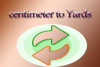 centimeter to Yards