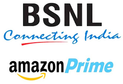 bsnl bharat fiber offering one year free amazon prime membership
