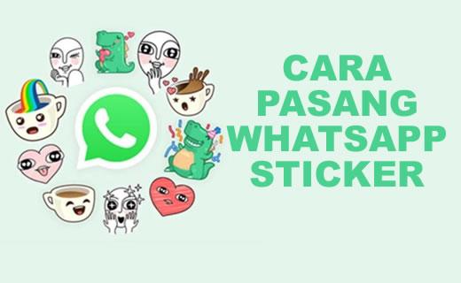Cara Install/Pakai Whatsapp Sticker Android