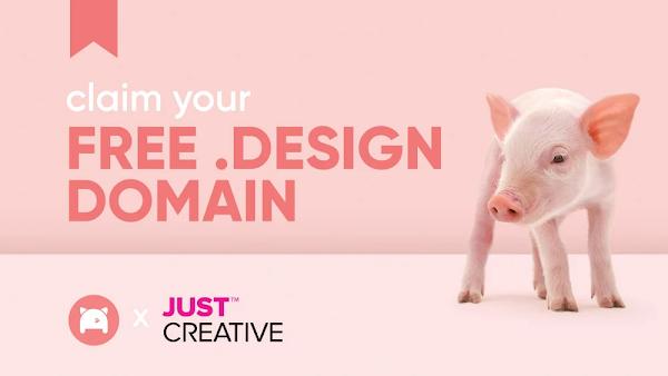 Tutorial Mendapatkan Domain dot Design 1 Tahun Gratis.