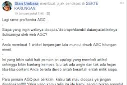 Pro kontra Autoblog AGC menurut saya