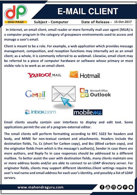 DP | E-mail Client  | 15 - 10 - 17