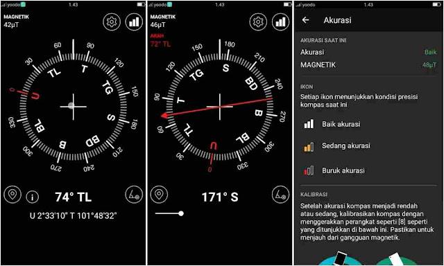 Aplikasi Kompas Digital