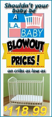LA Baby Cribs Promotions