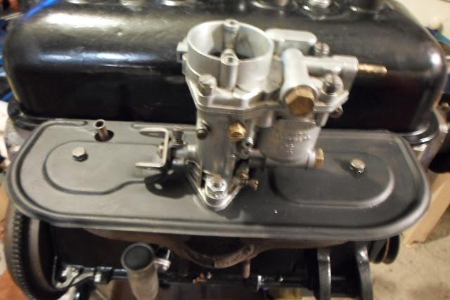 carburateur installé Peugeot 203
