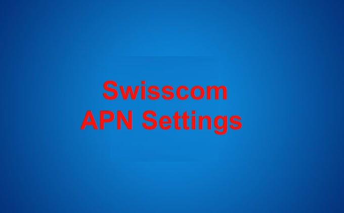 Swisscom APN Settings for iPhone, iPad, ios  2021