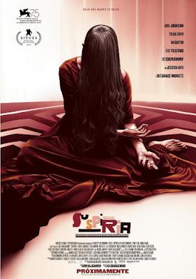 Suspiria 2018 DVD R1 NTSC Latino