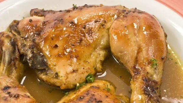 Lemon and turmeric duwari chicken
