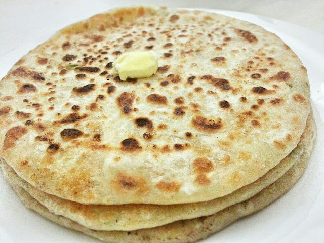 Meat and Potato Paratha Recipe