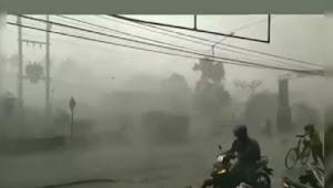 Diperkirakan hujan merata disemua wilayah Jakarta