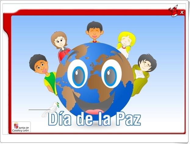 """""""Día de la Paz"""" (Aplicación interactiva de Primaria)"""