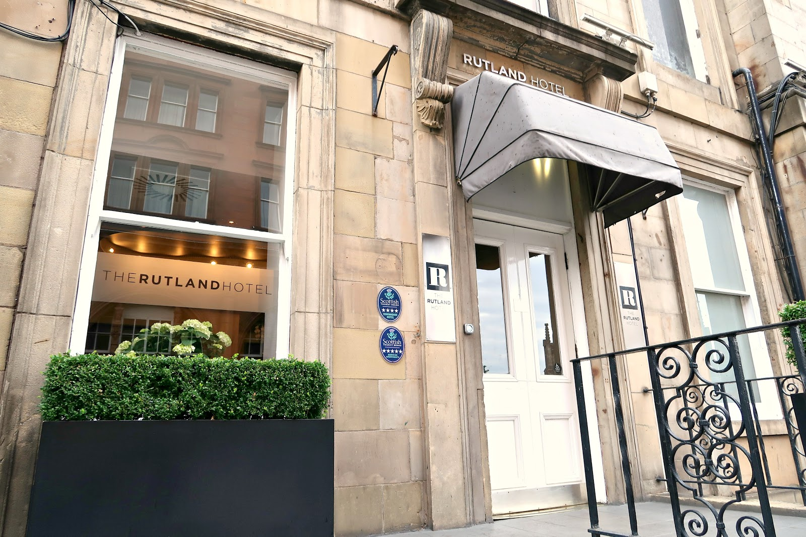 The rutland hotel and apartments edinburgh hotel review food the huxley blogger luxury