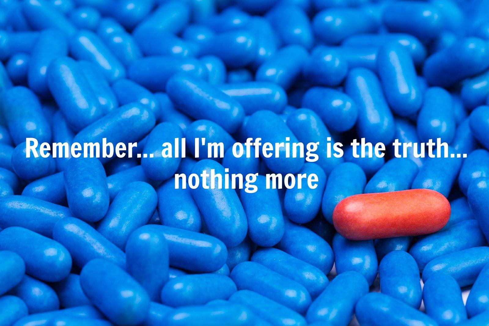 rött piller blå piller dating