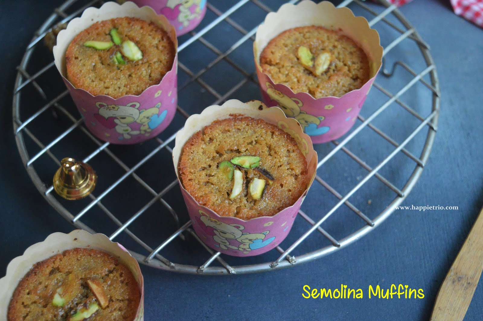 Semolina Muffins Recipe | Sooji Cupcakes |How to make cupcakes with Semolina
