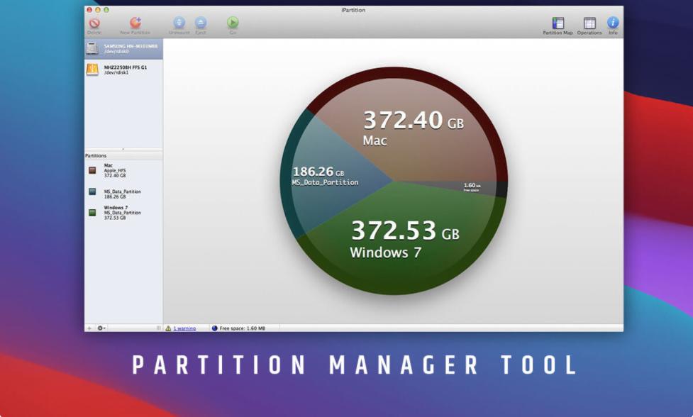 أفضل أداة لإدارة أقسام القرص الصلب لنظام التشغيل Mac 2021