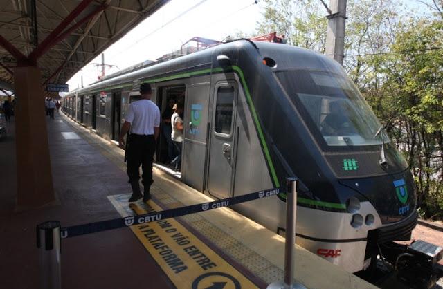Tarifa do metrô de Belo Horizonte sobe para R$ 3,40 nesta quarta-feira
