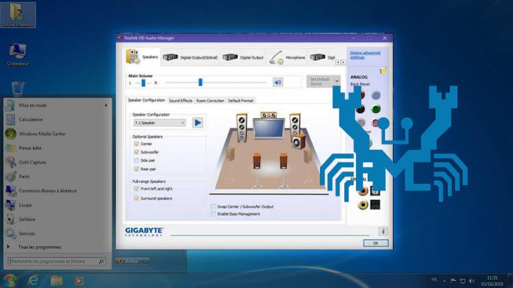 تحميل وتثبيت تعريف كارت الصوت لاى جهاز كمبيوتر ويندوز 7