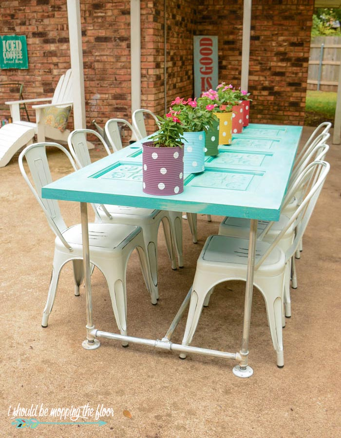 DIY Table for Patio