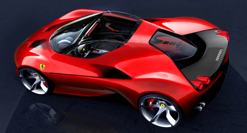 Design Your Own Car >> Ferrari's Future Designs Could Follow J50's Lead