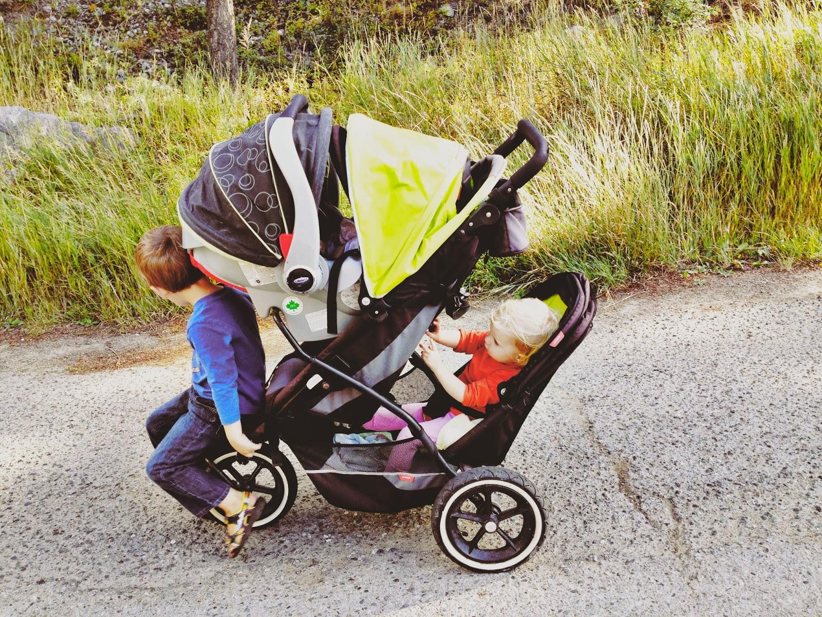 phil & teds, explorer stroller, double stroller, three kids under four, car seat stroller